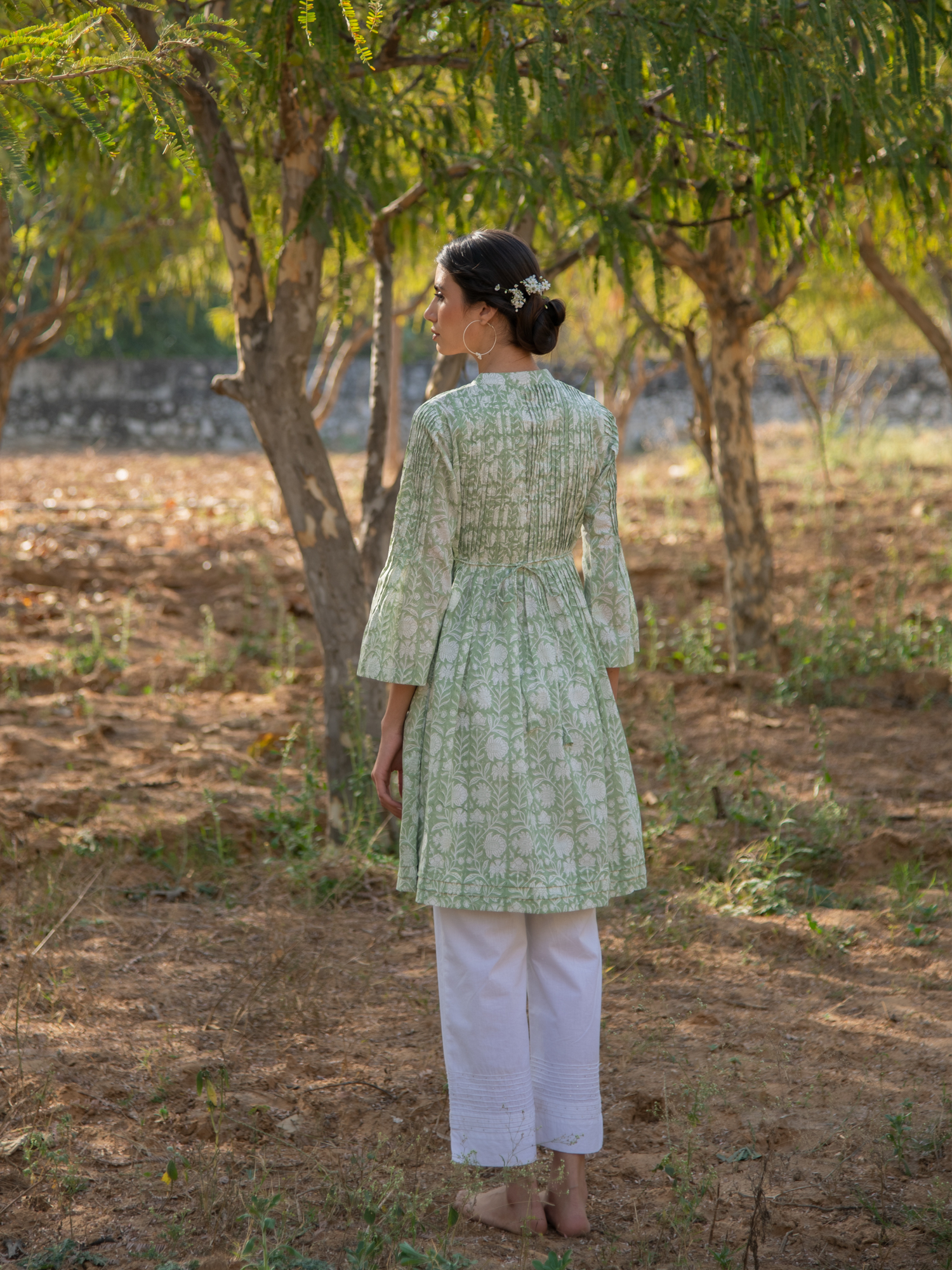 Greener Days Tunic